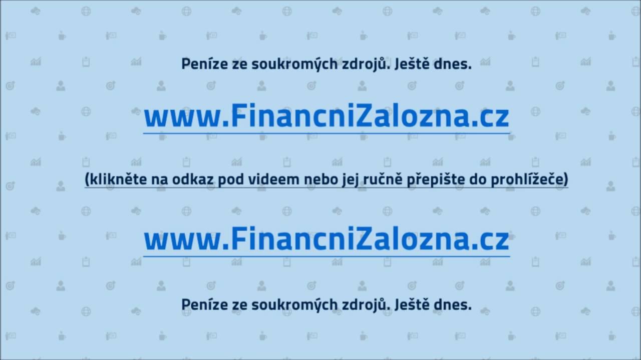 Krátkodobá půjčka na složenku 3000 cz