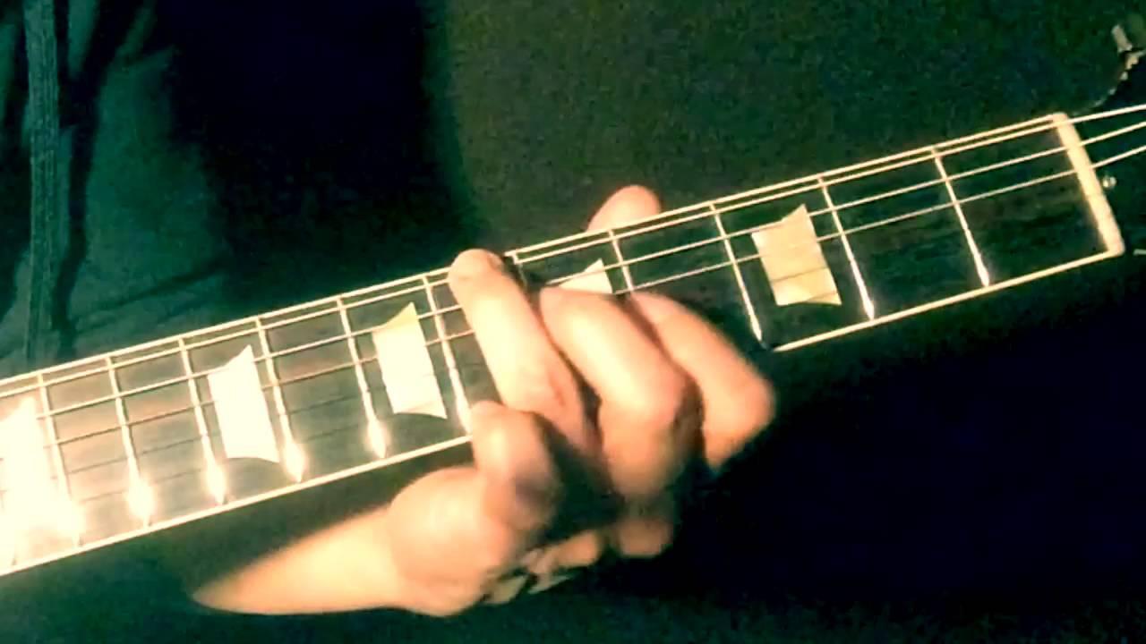 Ide Rather Ge Blind Slide Guitar Chords Lesson Youtube