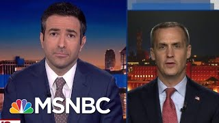 House Dems Confront Trump Aide Lewandowski Over Lying On MSNBC | The Beat With Ari Melber | MSNBC