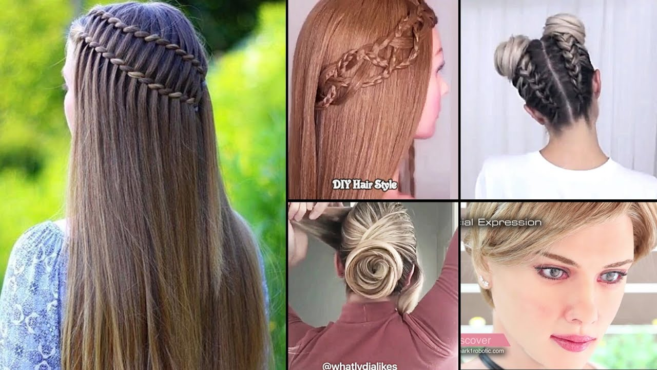 at home hair styles best 30 diy hairstyles you can do at home easy 8347
