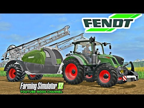 Farming Simulator 17 Mods Fendt Rogator 300
