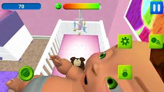 MOTHER SIMULATOR  3D - IOS, ANDROID GAMEPLAY