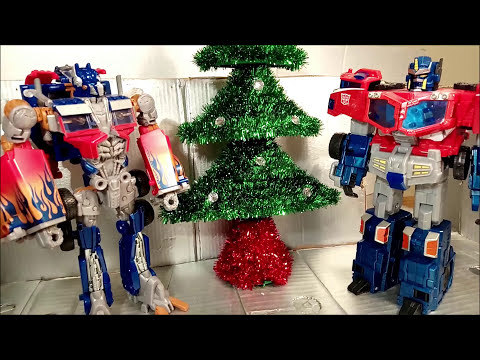 Transformers Christmas Special 2017 Stop Motion