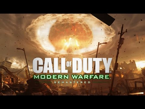 Call of Duty 4 Modern Warfare Remastered Nuke Mission Gameplay Veteran |