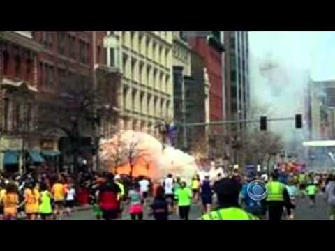 Two explosions rock Boston Marathon - Dozens injured