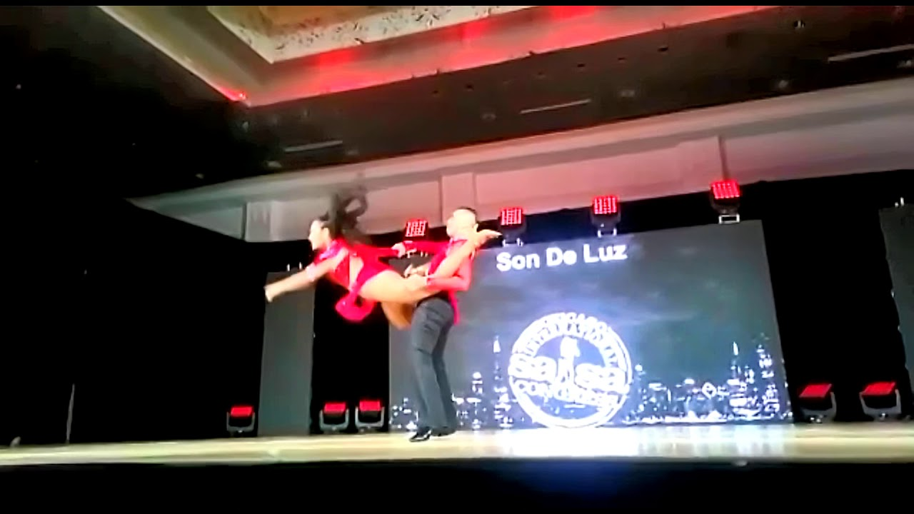 Duberney Hurtado y Michelle Losada en el Chicago Salsa Congress