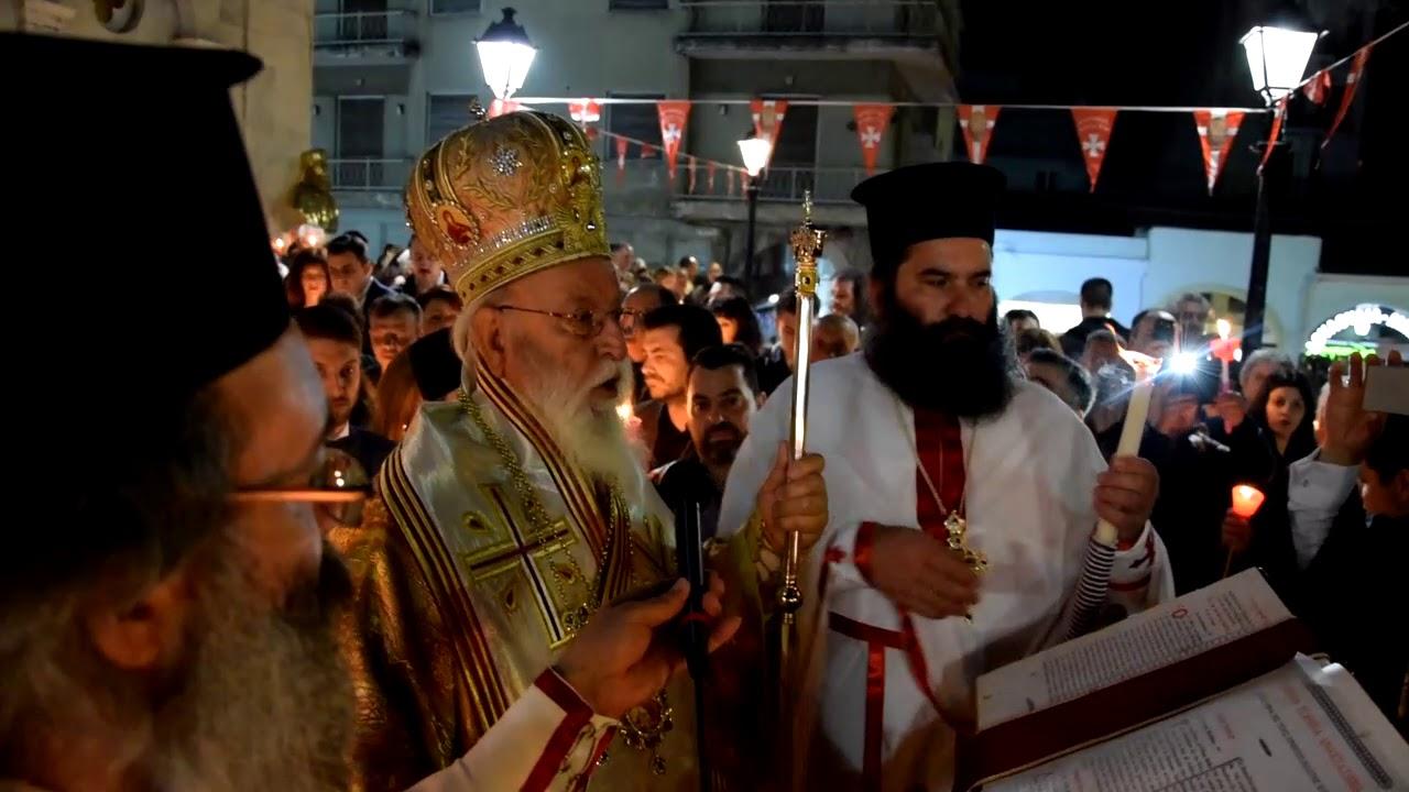 Ανάσταση στον Ιερό Ναό Αγίου Βασιλείου Τρίπολης