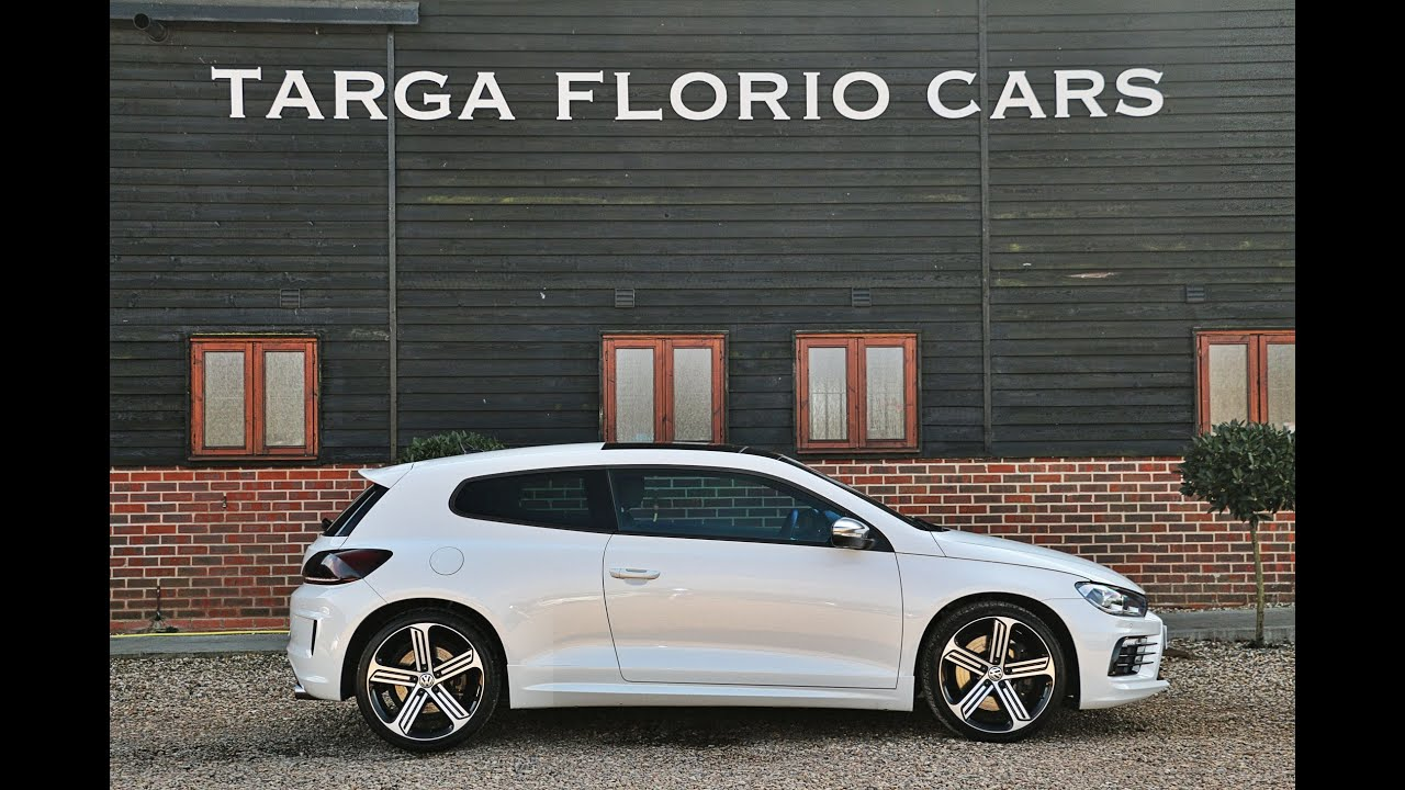 volkswagen scirocco r 2 0 tsi automatic in pure white with. Black Bedroom Furniture Sets. Home Design Ideas