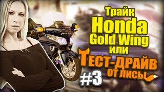 Трайк Honda Gold Wing или Тест Драйв от Лисы #3