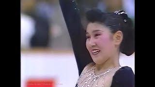 伊藤みどり Midori Ito 1990 NHK Trophy (Asahikawa) - Free Skating - Pf con. No.5 by Beethoven,  Finlandia