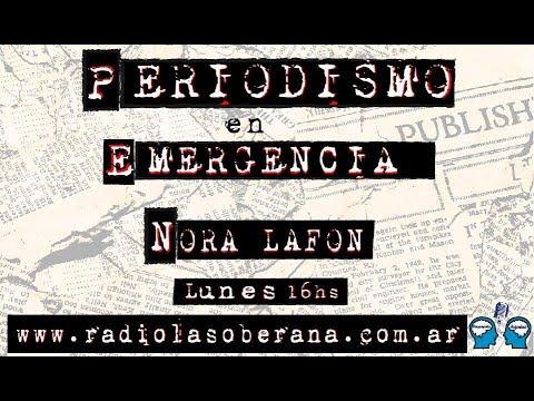 Romina Schwedler Y Edith Margulis en Periodismo en emergencia Radio la Soberana