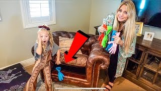 Find Your Mystery Slime Glove Ingredients Challenge!!! thumbnail