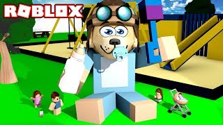 ROBLOX - I become a GIANT BABY! 👶🍼