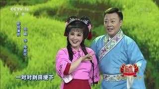 [梨园闯关我挂帅]黄梅戏《打猪草》选段 演唱:田岷、张辉| CCTV戏曲