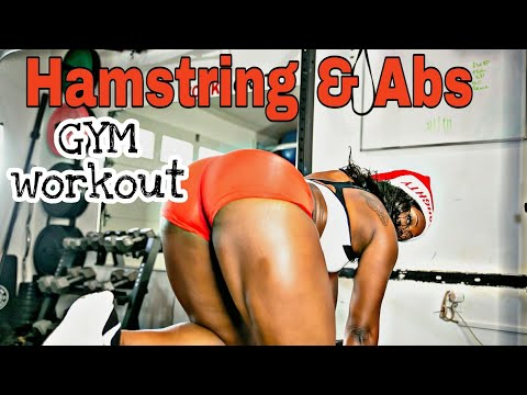 Hamstring & Abs Gym Workout | Road to Competition Prep Training