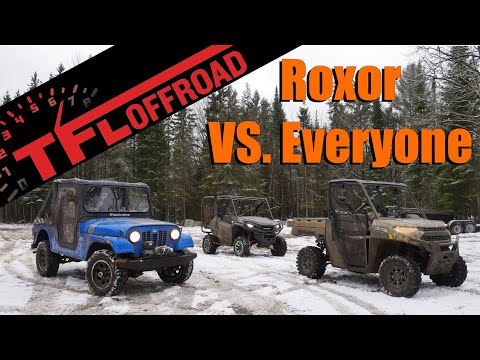 Epic Off-Road Smackdown: Can the Classic Mahindra Roxor Beat the Polaris Ranger and Honda Pioneer?