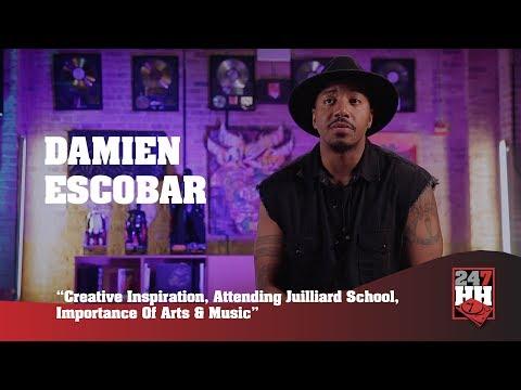Damien Escobar - Creative Inspiration, Attending Juilliard, Arts & Music Programs (247HH Exclusive)