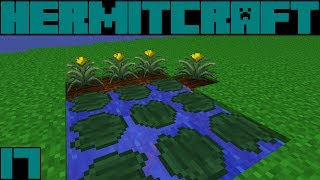 Hypno HermitCraft FTB Monster S3E17: Lilypads, Watering Can & Crops!!!