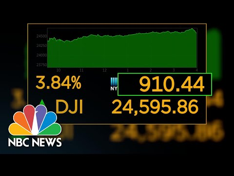Markets Rebound After Promising COVID-19 Vaccine Trial   NBC News NOW