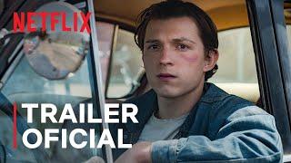O Diabo de Cada Dia com Tom Holland e Robert Pattinson | Trailer oficial | Netflix