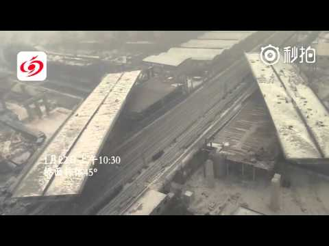 2 highway bridges in C China's Zhengzhou got lifted & turned 90° in merely 88 min