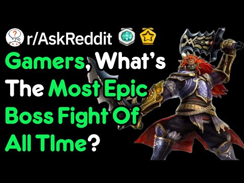 Most Epic Boss Fight In All Of Gaming?! (Gamer Stories R/AskReddit)