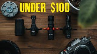 BEST mic UNDER $100 - Deity D4 Duo Vs Rode Micro Vs Sennheiser MKE 200 Vs Movo