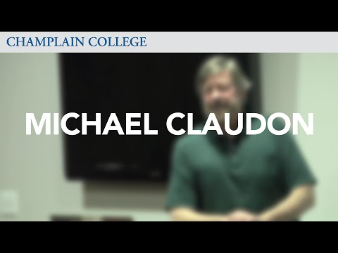 Michael Claudon: Speaking from Experience