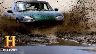 Top Gear: Tanner Struggles to Cross the Finish Line (S4, E19) | History