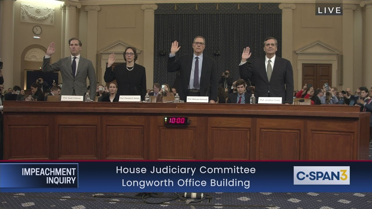LIVE: House Judiciary Committee Impeachment Inquiry Hearing