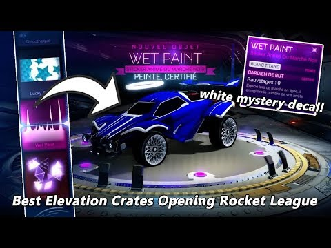 Best Elevation Crates Opening Rocket League thumbnail
