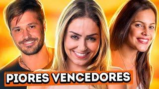 OS 10 VENCEDORES DE REALITY SHOWS MAIS ODIADOS | Diva Depressão