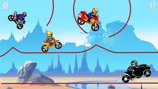 BIKE RACE Free - VIP Bike World Record - Dunes GamePlay Android \ IOS