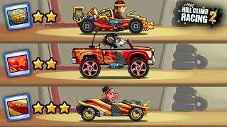 Hill Climb Racing 2 - ALL CHINESE PAINTS AND LOOKS