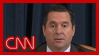 Hear Devin Nunes' opening statement | Day three of public impeachment hearing