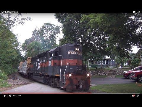 HD Railfanning Pan Am District 2 on 6/29/2017: POED w/ C40-8's, DO-1 w/ High Hood GP40, & Amtrak