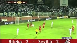 Video Gol Pertandingan Rijeka vs Sevilla