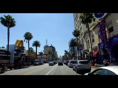 Hollywood Boulevard, Los Angeles California 2016 - 4K