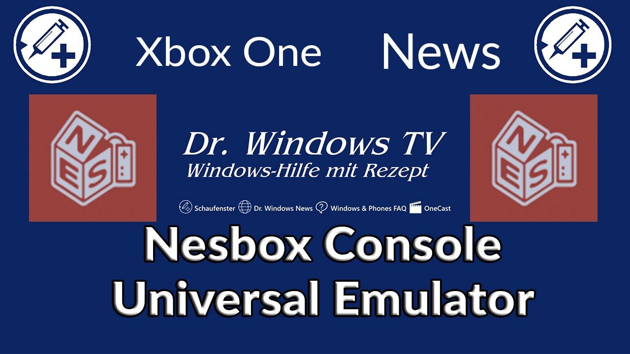 UPDATE: nesbox: Mit dem Universal Emulator via HTML5