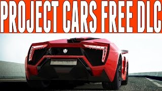 Project Cars Free Cars : Free Monthly DLC Cars - Adds Furious 7 Lykan Hypersport