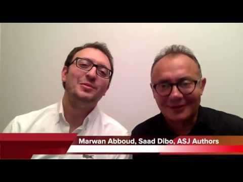 Editor's Choice: In Their Own Words (Sept/Oct) Abboud & Dibo