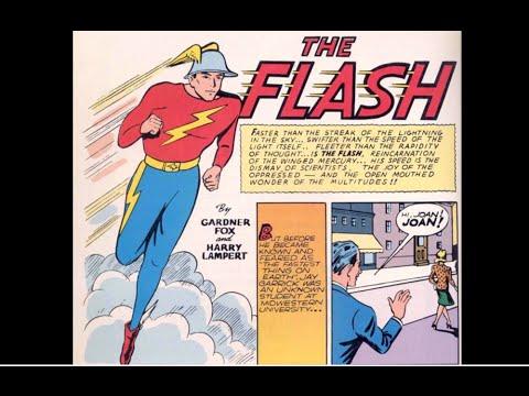 "Flash Comics # 01: ""The Fastest Man Alive"""
