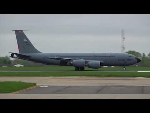 RAF MILDENHALL 29/04/2018. OHIO KC-135R 23511 RCH 537