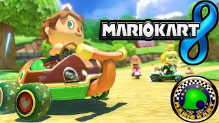 Mario Kart 8 DLC Pack 2 Animal Crossing Cup Villager Streetle New Characters 60fps Gameplay Wii U HD