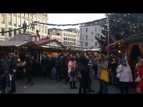 Augsburg Christmas Atmosphere , Desember 2015