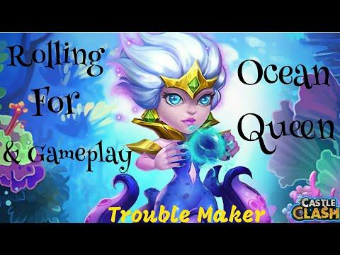 Rolling For Ocean Queen In Taiwan Server Castle Clash By Trouble Maker