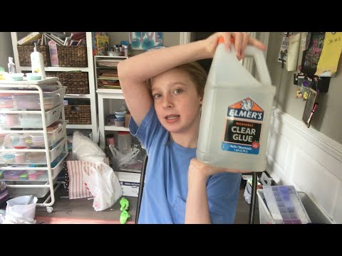 What I got for my birthday 2017(slime supplies etc)