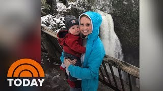 New Mom Hikes Waterfalls With Baby Son To Get Through Heartbreak | TODAY