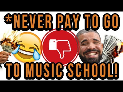 DO NOT PAY To Go To Music School! Here Is Why!