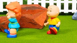 🏃 Caillou Plays Tag 🏃 | Funny Animated Kids show | Caillou Stop Motion